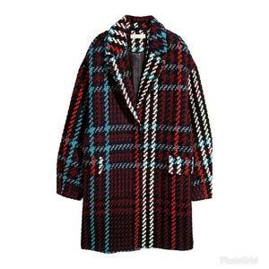 Jacquard-weave coat